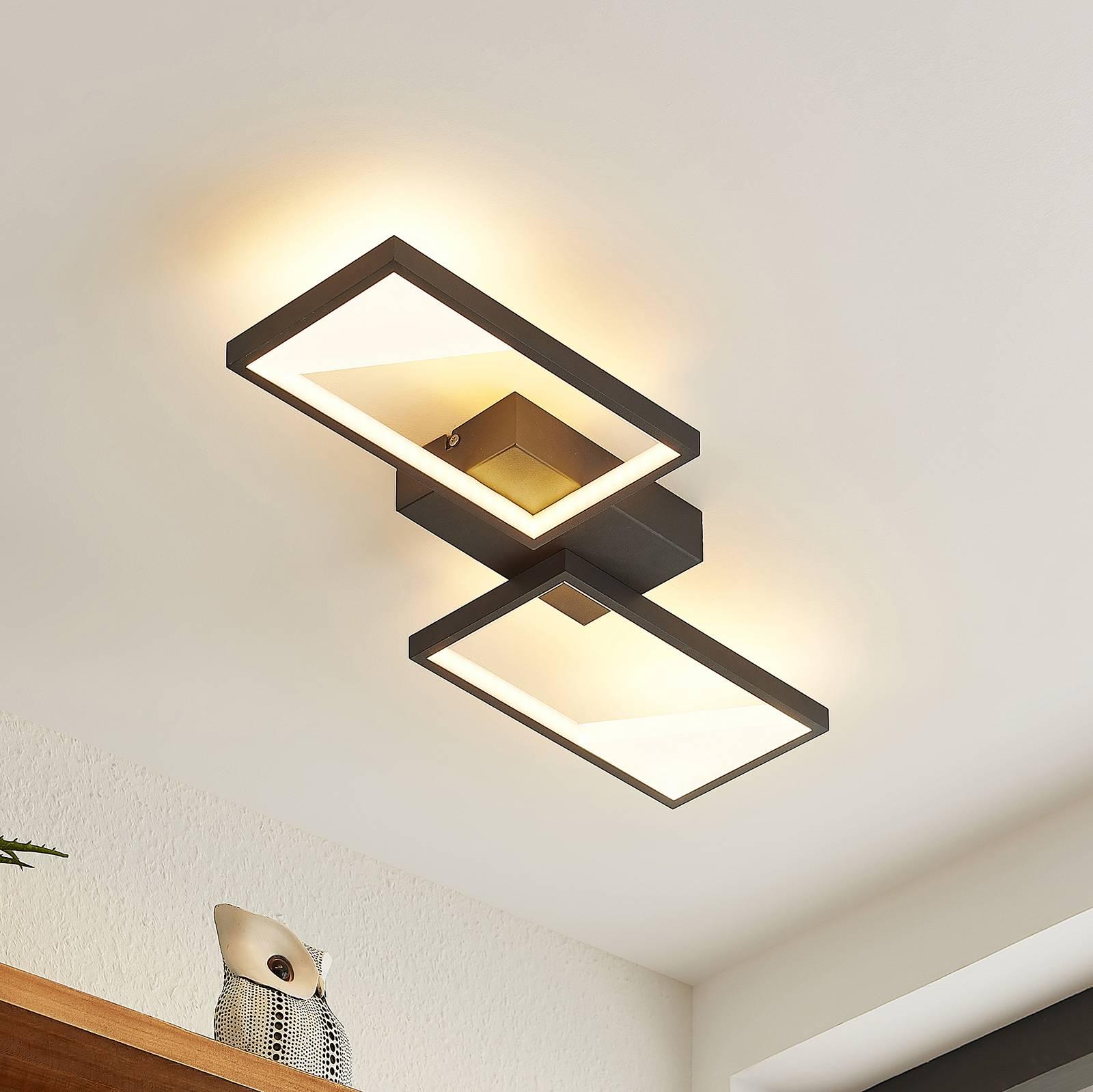 Lindby Fotini -LED-kattovalaisin kaksilamppuinen