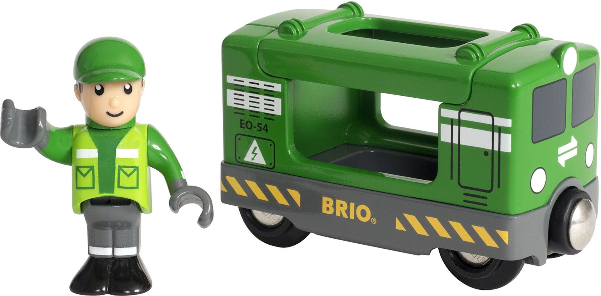 BRIO 33894 Lastvagn Med Förare