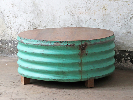 Upcycled Coffee Table - Green Green