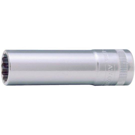 "Bahco A7402DM-18 12-kulmainen hylsy 3/8"", pitkä malli 18 mm"
