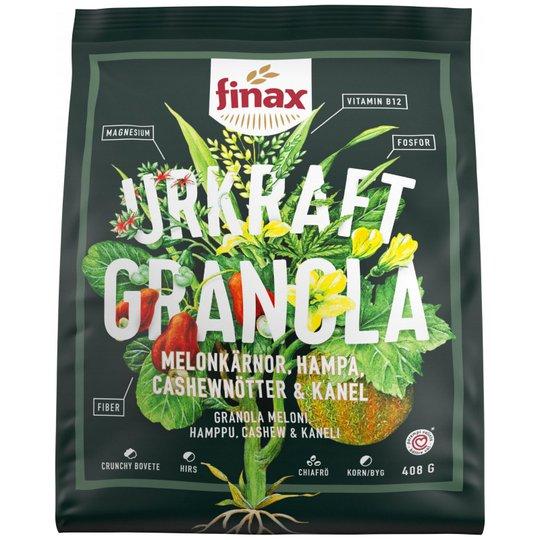 Granola Cashew, Melon & Hampa 408g - 52% rabatt