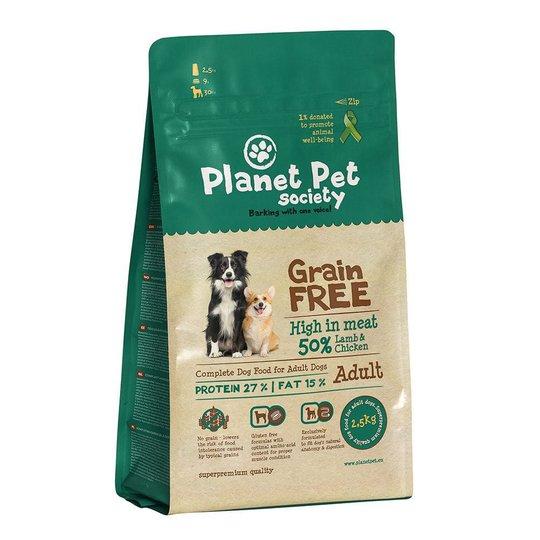 Planet Pet Society Grain Free Lamb & Chicken (12 kg)