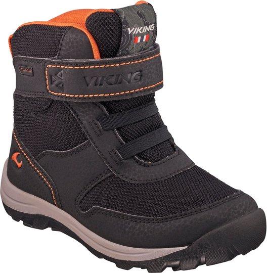 Viking Hamar GTX Sko, Black/Orange 20