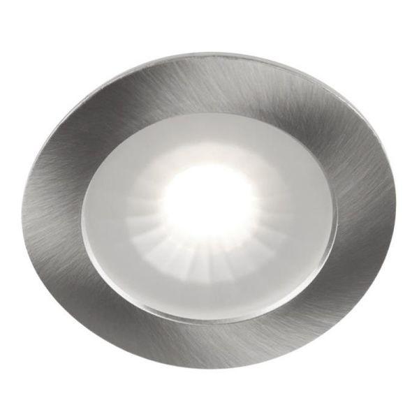 Hide-a-Lite 1202 Downlight 12 V, 4000 K Børstet stål