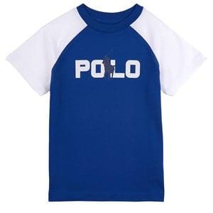 Ralph Lauren Logo Print-Changing T-shirt Marinblå 4 år