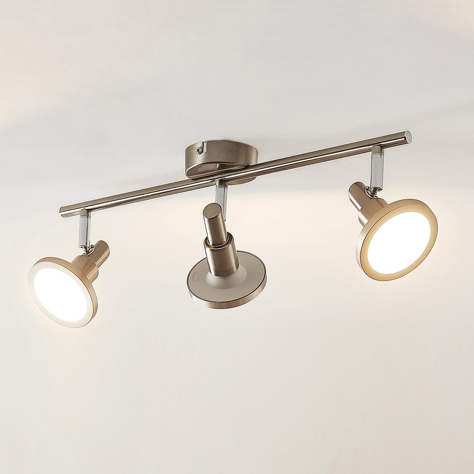 Lindby Unnur -LED-kohdevalo, 3-lamp