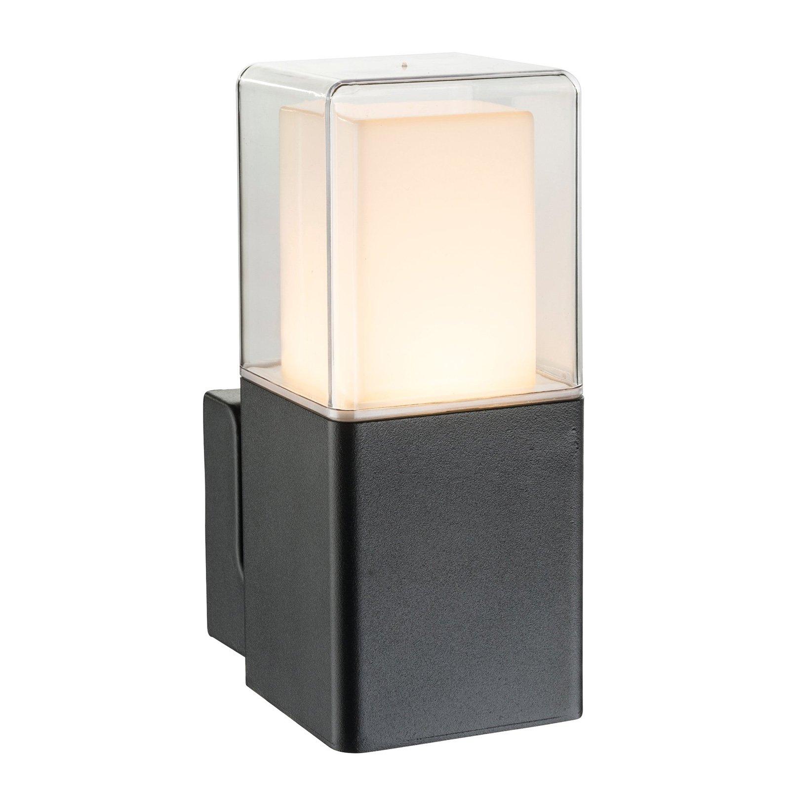 Utendørs LED-vegglampe Dalia med glassdiffusor