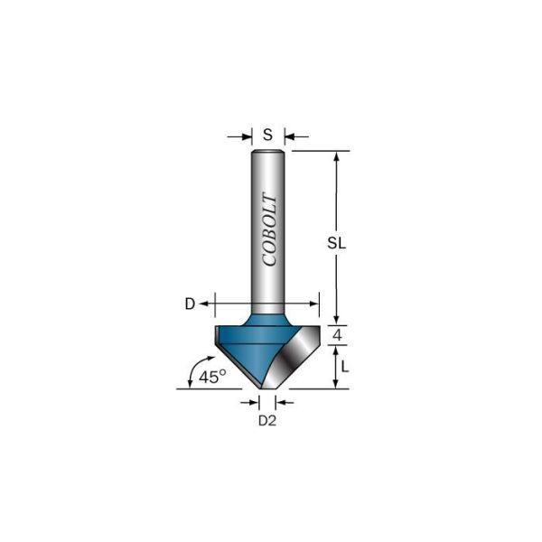 Cobolt 109-453 V-urajyrsin