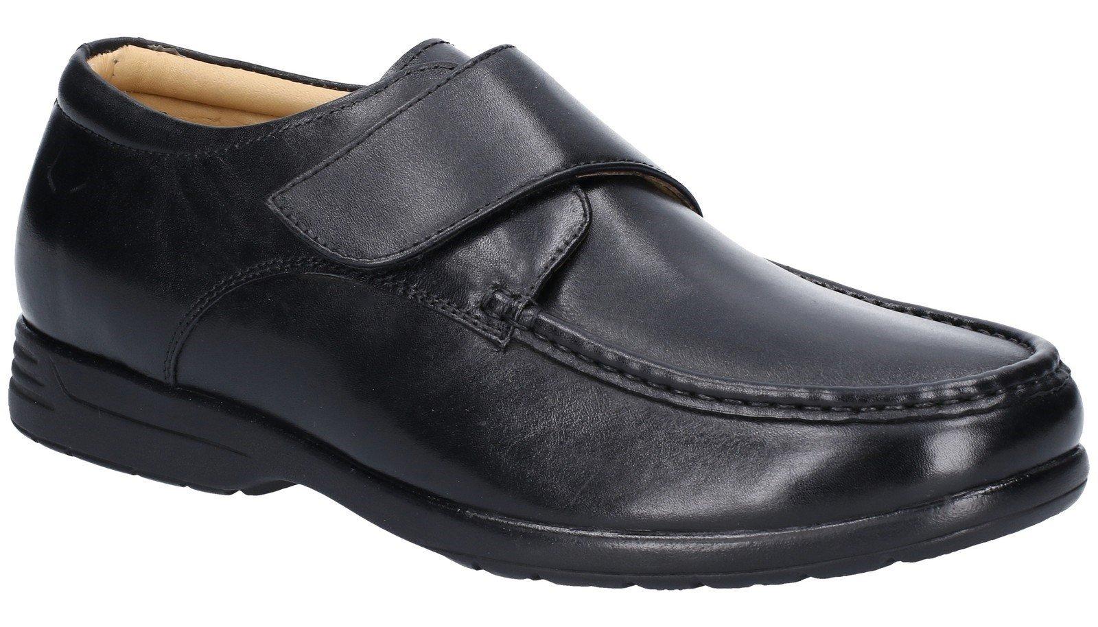 Fleet & Foster Men's Fred Dual Fit Shoe Black 29008-49026 - Black 13