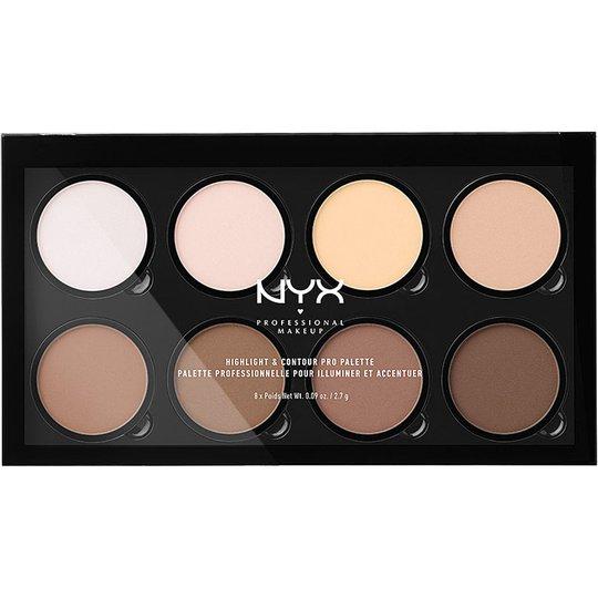 Highlight & Contour Pro Palette, NYX Professional Makeup Contouring
