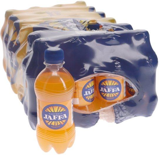 Virvoitusjuomat Jaffa Appelsiini 24kpl - 33% alennus