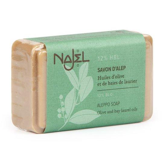 Najel Aleppotvål - 12% lagerbärsolja, 100 g