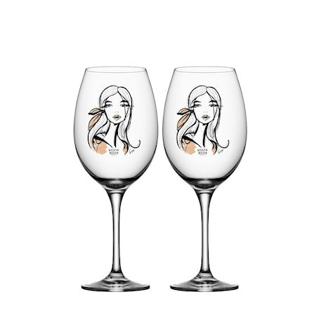 All About You/Wait For Her Vinglass 2-pakning 52cl
