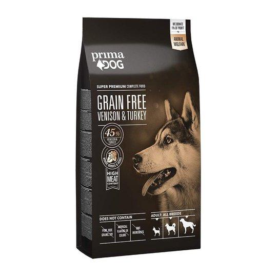 PrimaDog Adult All Breeds Sensitive Grain Free Venison & Turkey (10 kg)