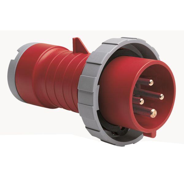 ABB 2CMA166738R1000 Pistotulppa IP67, 32 A, ruuvikiristin 4-napainen, Punainen