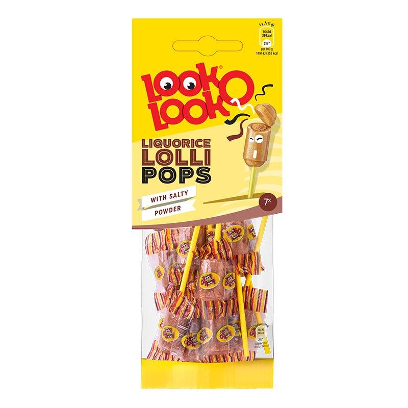 Look-O-Look Lakritsklubbor - 70 gram