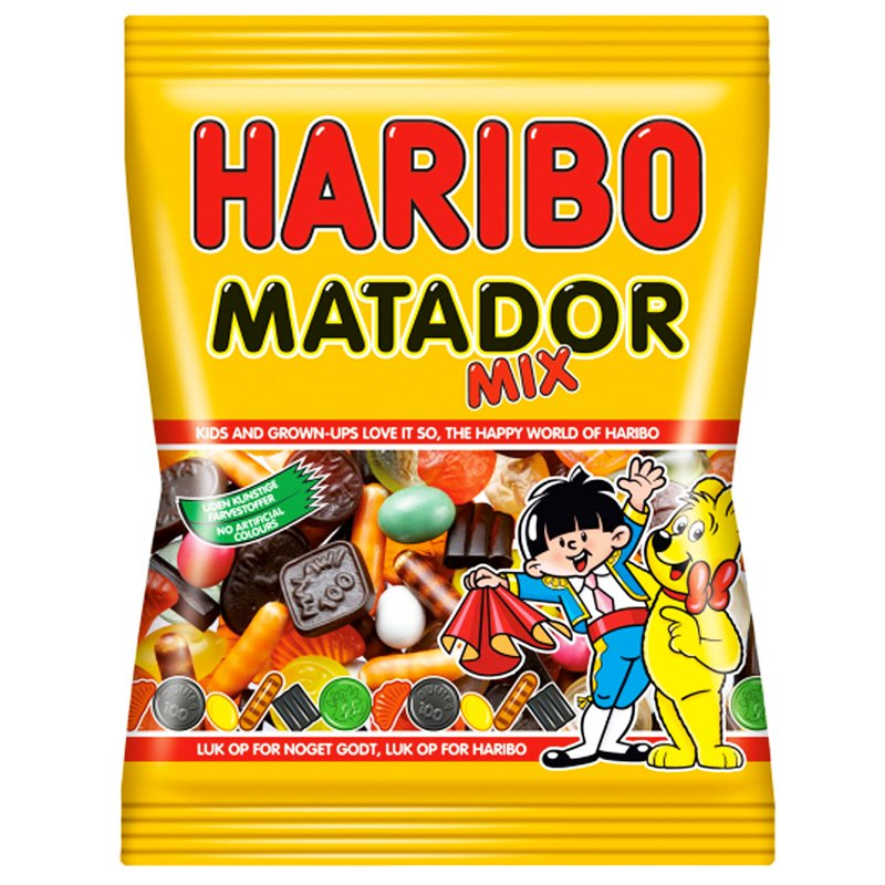 """Godis """"Matador Mix"""" 135g - 53% rabatt"""