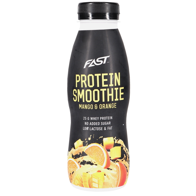 Proteiinismoothie Mango & Appelsiini - 50% alennus