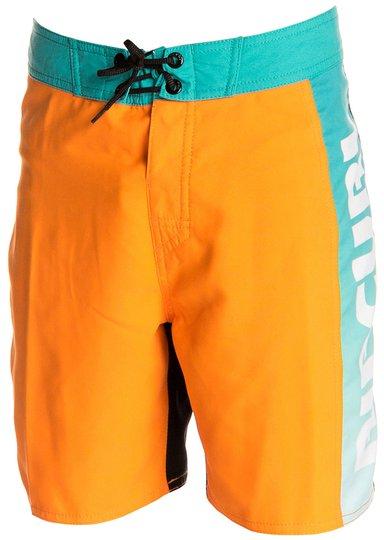 Rip Curl Pumped Badeshorts 16 tommer, Orange/Black 130