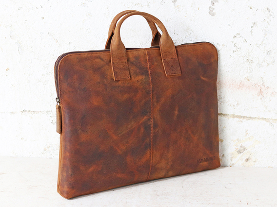 Leather Laptop Bag 15 Inch