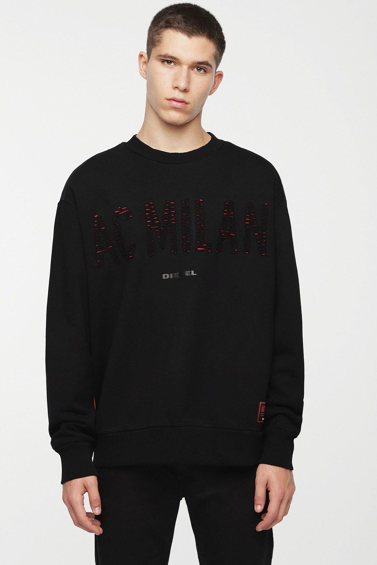 Diesel Men's Sweatshirt Various Colours 270115 - black 2XL