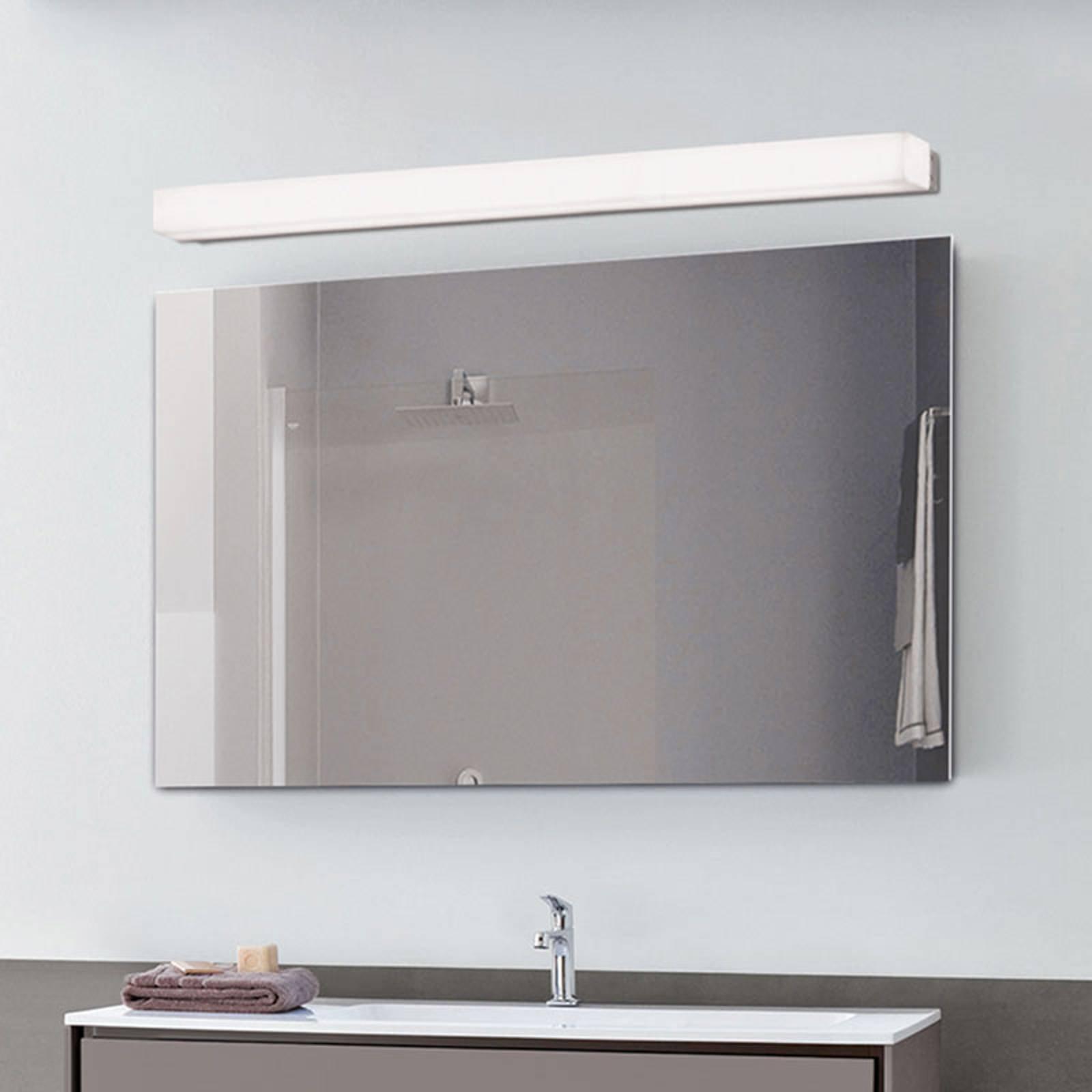 LED-vegglampe til bad Box, 3 000 K, bredde 89 cm