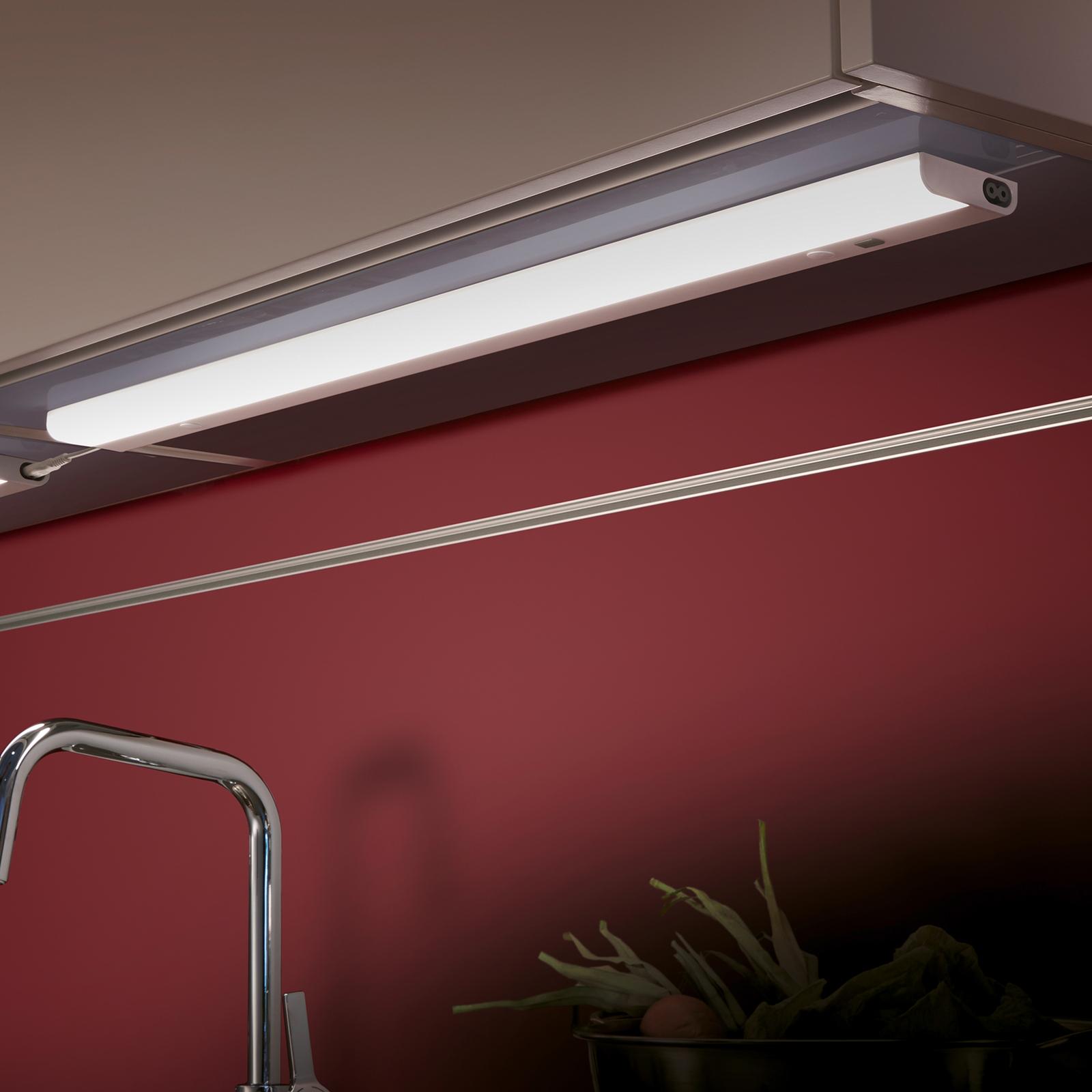 LED-kaapinalusvalaisin Simeo, 77 cm pitkä