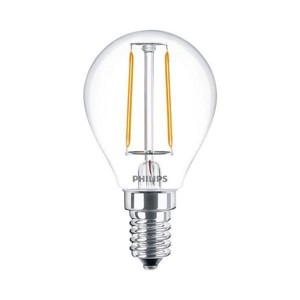 Philips Classic LED Filament LED-lampe 2 W, kuleform