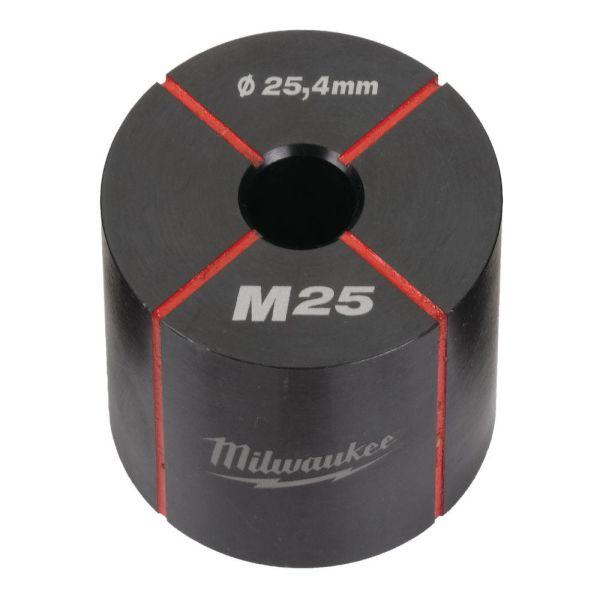 Milwaukee 4932430916 Hullstanser for rustfritt og mykt stål M25