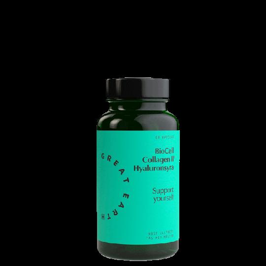 BioCell Collagen II+Hyaluronsyra, 60 kapslar