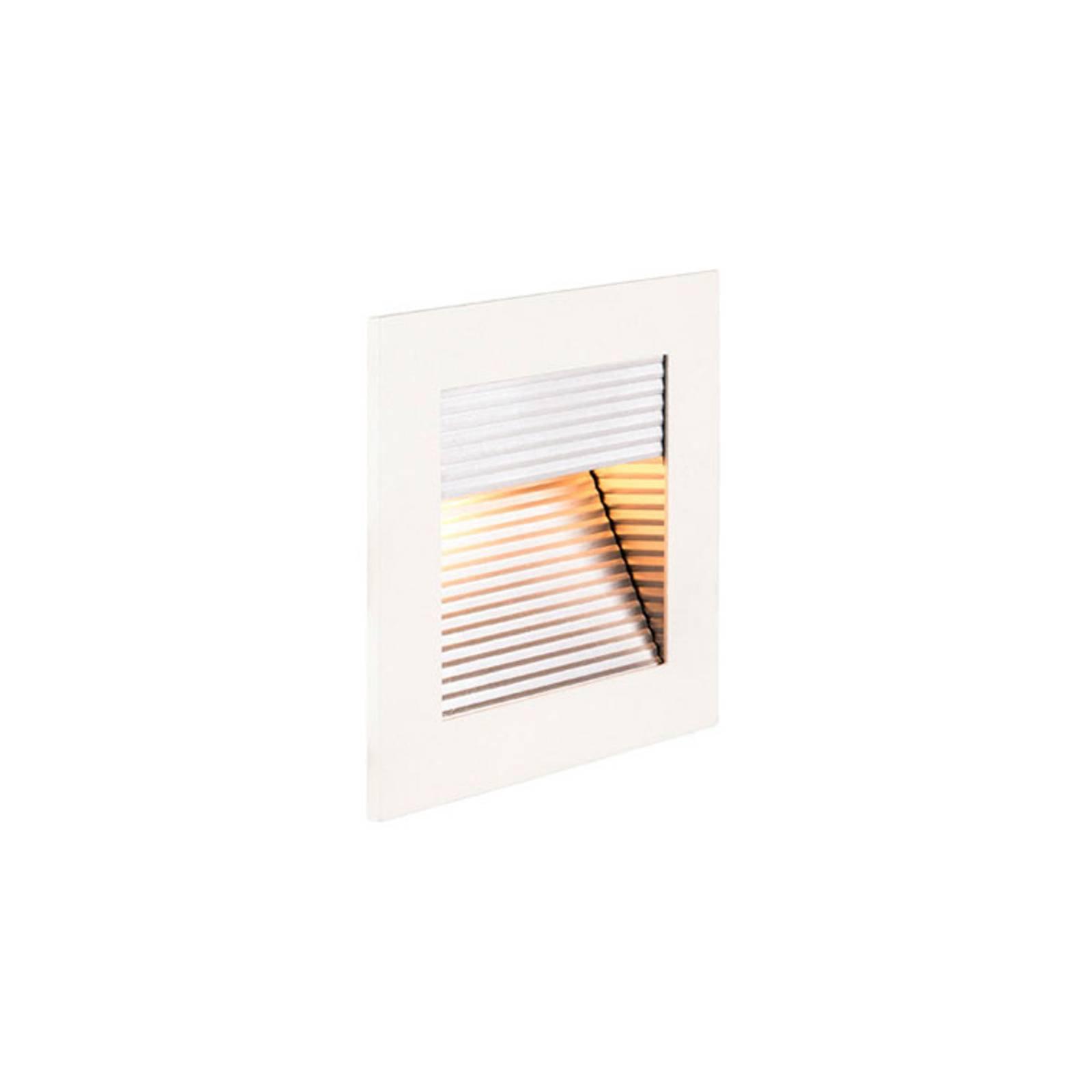 SLV Frame Curve LED-innfellingslampe, hvit