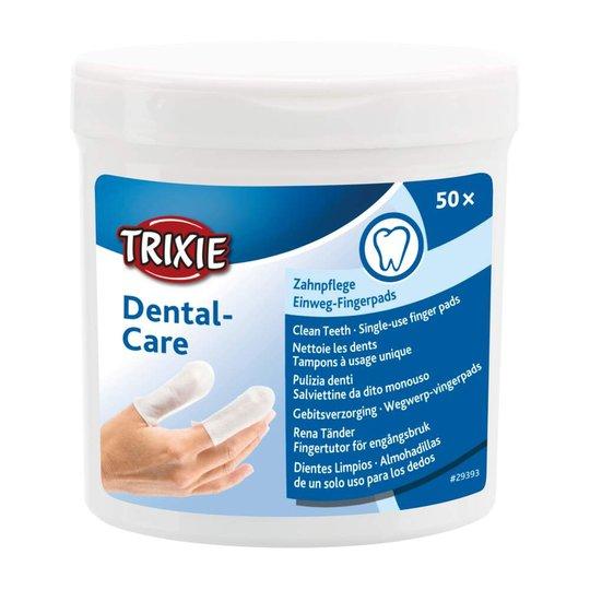 Trixie Fingerpads för tänder 50-pack