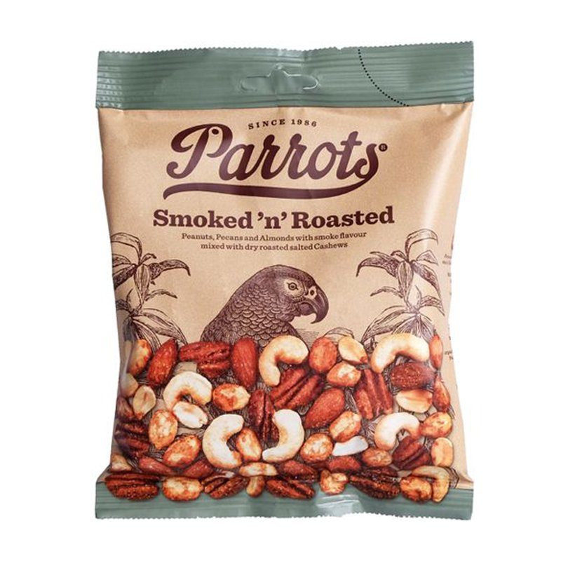 Parrots nötmix Smoked 'n' Roasted 175g - 61% rabatt