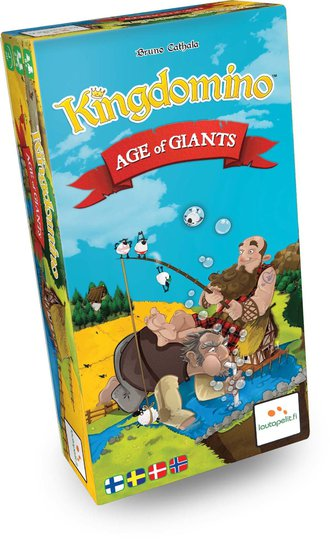 Kingdomino Age Of Giants Brettspill