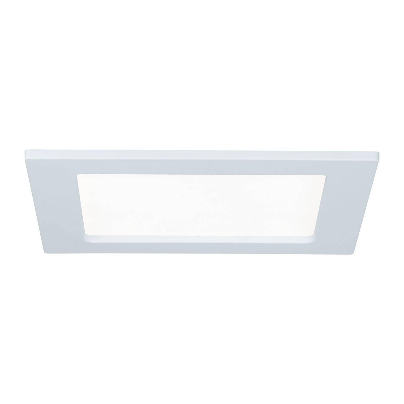 Paulmann LED-panel, firkantet, 12W, 4 000 K, hvit
