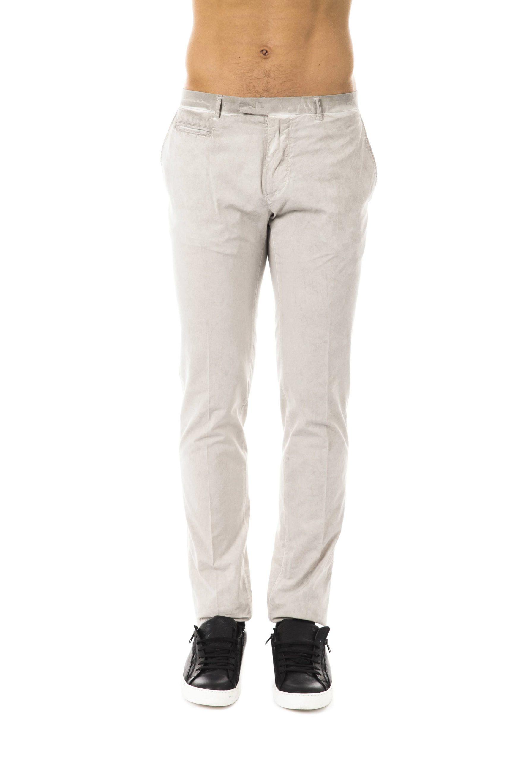 Uominitaliani Men's Trouser Gray UO1394760 - IT50 | L