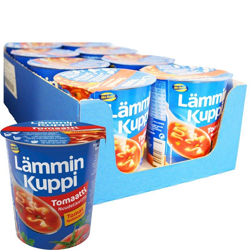 Laatikollinen Tomaatti-Nuudelikeittoa 8 x 43,2g - 40% alennus