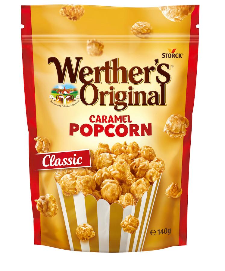 Werthers Classic Caramel Popcorn 140g
