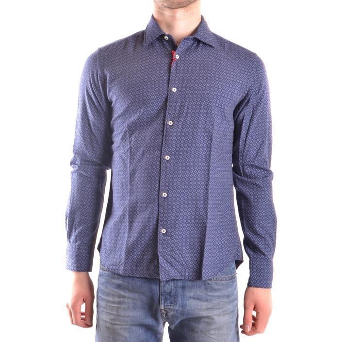 Altea Men's Shirt Blue 160926 - blue S