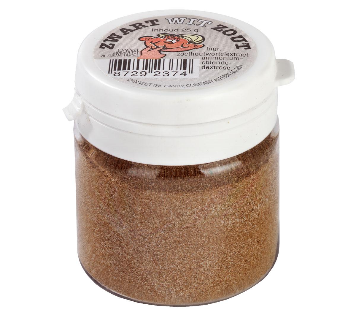 Snuspulverburk salt 25g