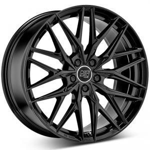 MSW 50 Gloss Black 8.5x19 5/108 ET45 B73.1
