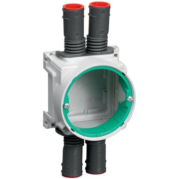 Schneider Electric 4014213011 Kytkentärasia yksin- tai kaksinkertaiselle kipsilevylle