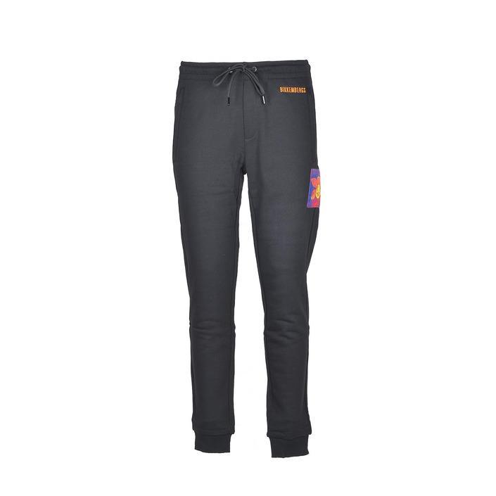 Bikkembergs Men's Trouser Black 223457 - black M