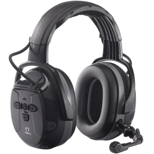 Hellberg Xstream LD Kuulosuojain puomimikrofoni, Bluetooth, ympäristönkuuntelu, päälakisanka
