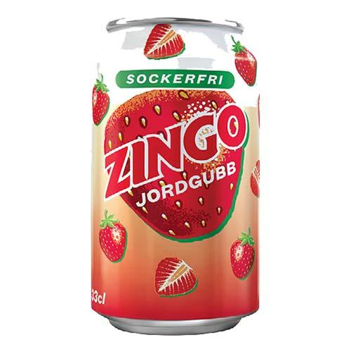 Zingo Jordgubb Sockerfri - 1-pack