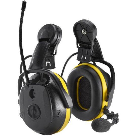 Hellberg Synergy Kuulosuojain Bluetooth, ympäristönkuuntelu, kypäräkiinnike