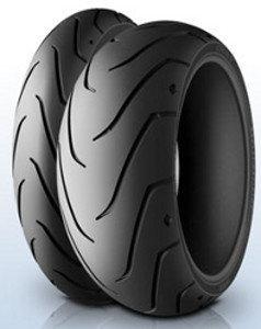 Michelin Scorcher 11 ( 140/75 R15 TL 65H takapyörä, M/C )