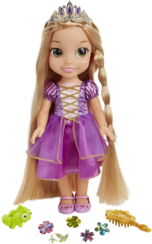 Disney Princess - Glow and Style Doll 38cm - Rapunzel (71613-7L)
