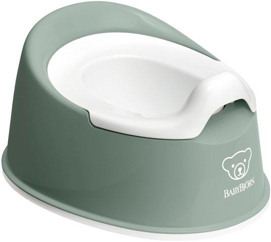 BabyBjörn Smart Potte, Green/White