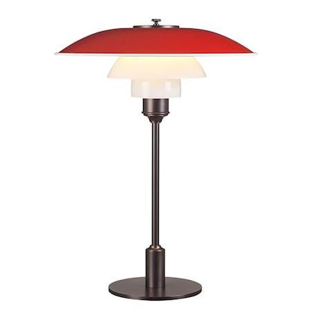 PH 3½-2½ Bordslampa - Röd